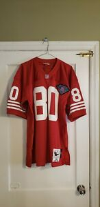 100% Authentic Mitchell & Ness 1994 San Francisco 49ers Jerry Rice Jersey 44 L
