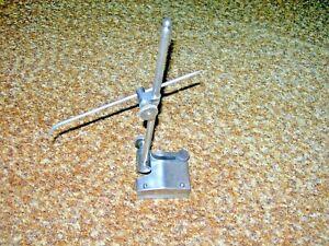 "Vintage The L. S. Starrett Surface Gage 9"" long rod. Scriber & Indicator Holder."
