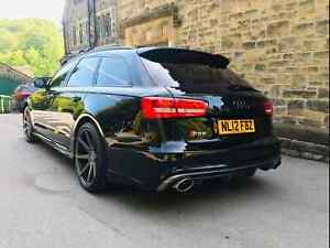 Visual Body Kit - Audi RS6 Style For A6 Avant