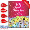 101 Quran Stories and Dua Muslim Islamic Children Kids Book Best Gift Ideas