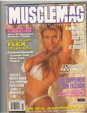 MUSCLEMAG bodybuilding muscle magazine/Stacey Lynn/Denise Paglia Bio 11-97 #185