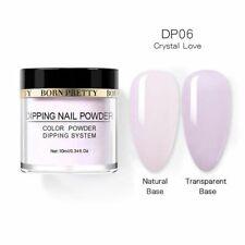 Born Pretty Nails Dipping Powder - Very Light Purple Shade - *CRYSTAL LOVE*