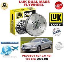 für Peugeot 607 2.0 HDI 136 BHP ab 2006 original LuK DMF Zweimassenschwungrad