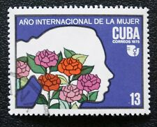 4CUBA Sc# 1954  INTERNATIONAL WOMENS' DAY  1975  used / cancelled cto