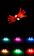 HOCA 2Pcs Magic Light Up Thumbs Fingers Trick Appearing Light Close Up