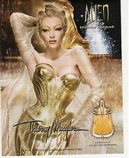 ▬► PUBLICITE ADVERTISING AD Parfum perfume Thierry MUGLER Alien Absolue  2012