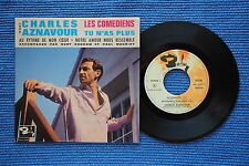 CHARLES AZNAVOUR / EP BARCLAY 70468 / VERSO 2 / BIEM 196.? ( F )