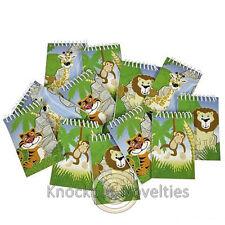 Dozen Jungle Spiral Notebook Favor Party Gift Bag Fillers Prizes Assortment