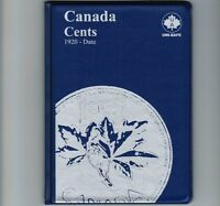 Uni-Safe Canadian Canada 1 Cent Penny Coin Collection Album Folder 1920-Date