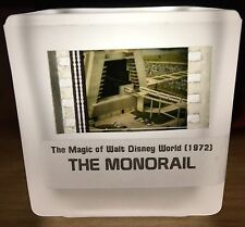 Vintage 1972 Magic Of Walt Disney World Movie Authentic Film Votive MONORAIL
