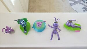 Lot of 5 Vintage 1990's Disney Pixar A Bug's Life McDonald's Happy Meal Toys