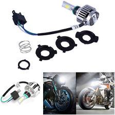 LED HID White 360° Hi/Lo Beam H4 Motorcycle Headlight Front Light Bulb Lamp IP67