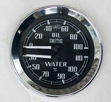 Smiths Oil Pressure & Water Temperature Gauge for MGB Sprite Midget. BHA4764