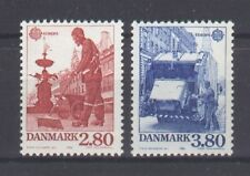 DENMARK, EUROPA CEPT 1986, NATURE & ART, MNH