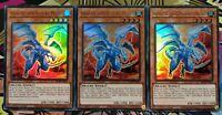 3x Drache von Koa'Ki Meiru BLAR-DE059 ULTRA Rare 1.Aufl DEUTSCH PLAYSET Yu-Gi-Oh