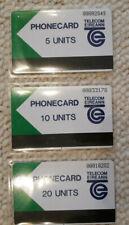 3 TK Phonecard Eireann Irland 5 10 20 Unit