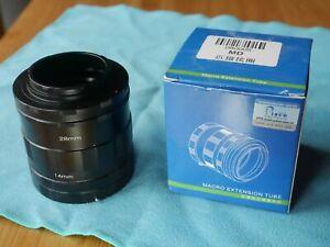 Pixco camera extension tubes for older MINOLTA BODY AND LENS (md) NOT AF
