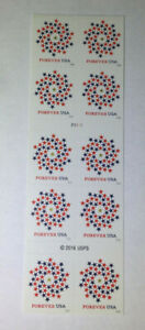 10 USPS Forever Stamps US 2016 FOREVER Postage USA Great Deal !