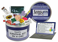 18th BIRTHDAY SURVIVAL KIT IN A CAN. Gift For Him/Her/Boys/Girls/Son/Daughter