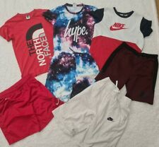 12-13 Years Boys summer Bundle hype the north face nike sonneti (A3)