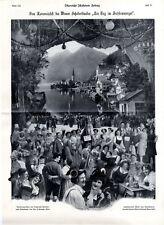 Vom Karnevalsfest des Wiener Schubertbundes Theater- Atelier F. Moser & Cie.1908