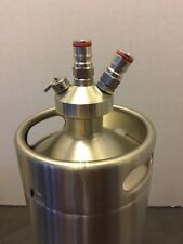 4L Stainless Steel Mini Keg With Lid Spear