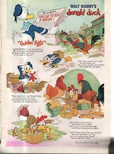 1941 Disney - Donald Duck Golden Eggs from Good Housekeeping
