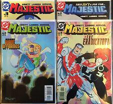 Majestic #1-4 Complete Set VF+ 1st Print Free UK P&P DC Comics