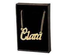 18k Plateó la Collar de Oro Con el Nombre - CLARA - Regalos Para las Mujeres