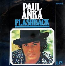 7inch PAUL ANKA flashback GERMAN 1973 EX
