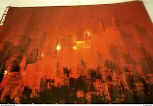 EMPIRE CITY EMPIRE STATE POSTER. DISTRIBUTED BY DARIEN HOUSE INC NEW YORK