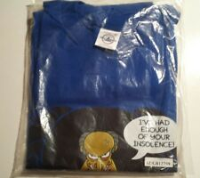 The Simpsons Mr.Burns Mens T-Shirt Color & Blue