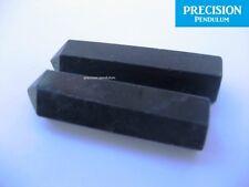 2 x Black Tourmaline Healing Magic Grid Pencil Point Gemstone Crystal Generator
