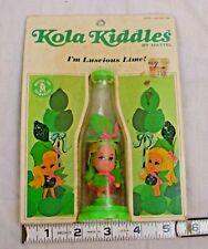 MATTEL KOLA KIDDLES LUSCIOUS LIME SODA BOTTLE DOLL NEW ON CARD 1967 3733