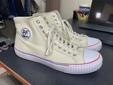 PF Flyers Center Hi Off White Mens Casual Shoes PM12OH3S