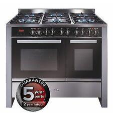 CDA RV1002SS 100cm Wide Double Oven Fuel Range Cooker