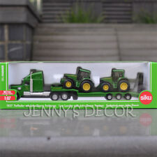 Siku 1837 Diecast Truck Model Toy 1:87 Low Loader w/ John Deere Tractors Replica
