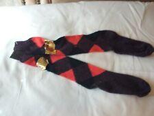 Ladies NEW VINTAGE MULTI ACRYLIC KNEE HIGH socks   size 4-10