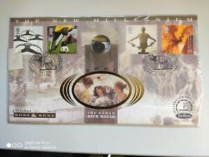 2000 Body & Bone - Roman Bath House = Roman coin - Millenium Collection
