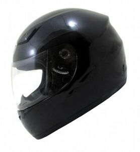 DOJO IMOLA 2 CHEAP MOTORBIKE HELMET GLOSS BLACK **FREE UK POSTAGE**