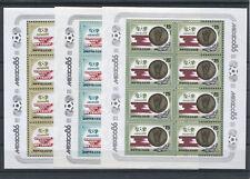 Sowjetunion 5612/14 Kleinbogen postfrisch - bitte lesen / Fußball .........2/797
