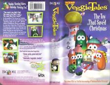 VHS: VEGGIE TALES THE TOY THAT SAVED CHRISTMAS#