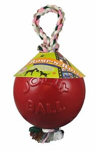 Jolly Pets Romp-n-Roll Ball for Dogs Red 4.5 inch