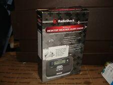 RadioShack 12-521 All Hazards Desktop Weather Alert Radio New bin 903