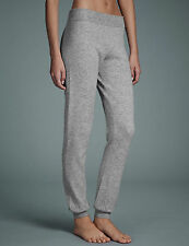 NEW M&S Autograph Grey Modal Cashmere Blend Cuff Hem Pyjama Bottoms UK18 EUR 42