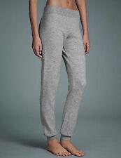 NEW M&S Autograph Grey Modal Cashmere Blend Cuff Hem Pyjama Bottoms UK18 EUR 42