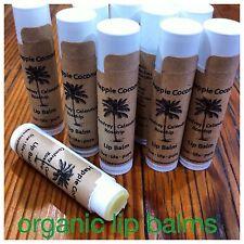 Organic Rosehip & Comfrey Lip Balms 3 Pack
