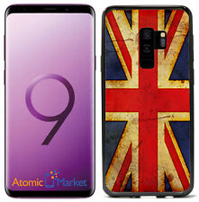 British  Flag Union Jack Grunge For Samsung Galaxy S9 2018 Case Cover