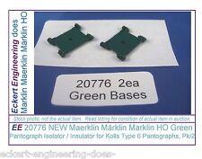 Ee 20776 New Maerklin Märklin Marklin Ho Green Pantograph Isolator Insulator Pk2