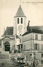 Carte PARIS Eglise de Charonne